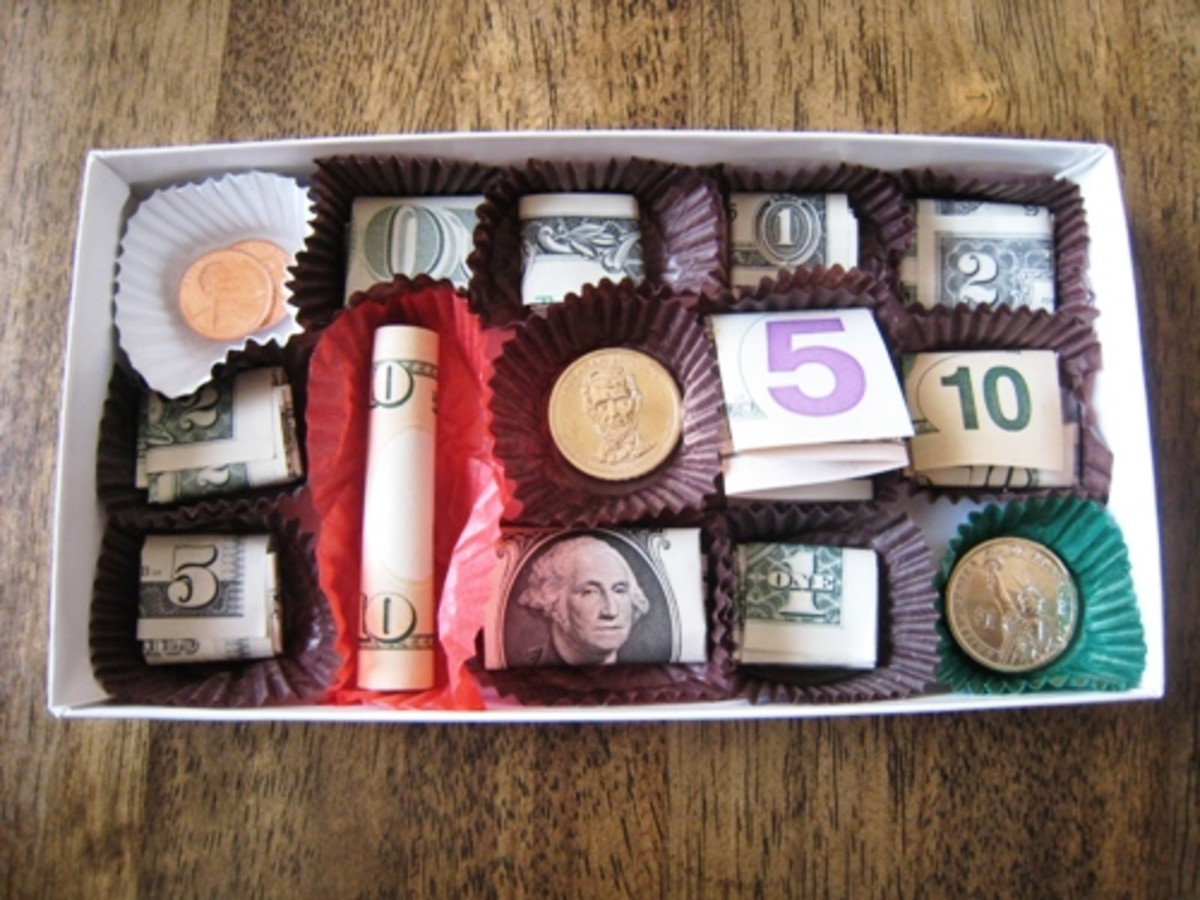 money-candy-box