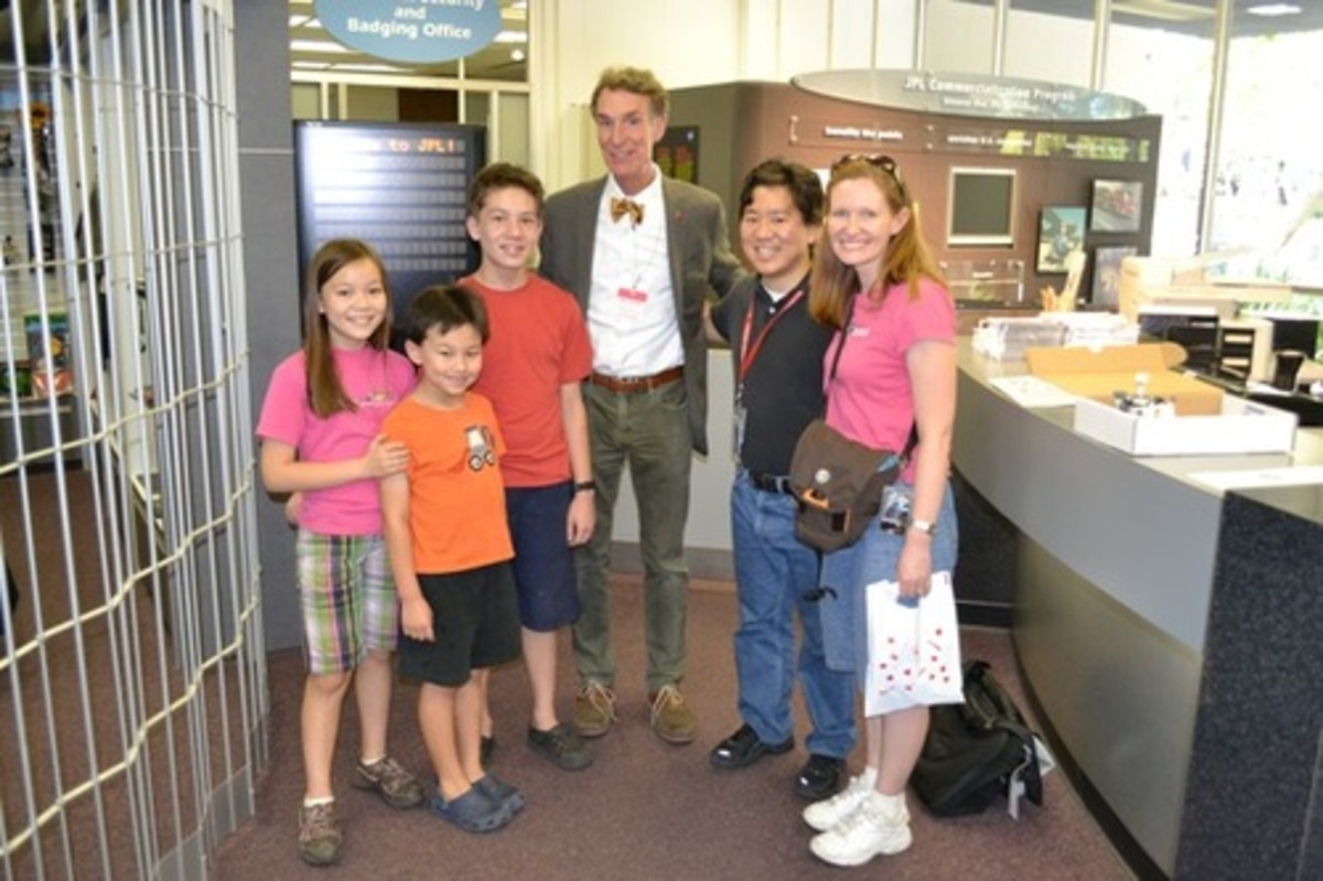 Bill Nye and Oh Family