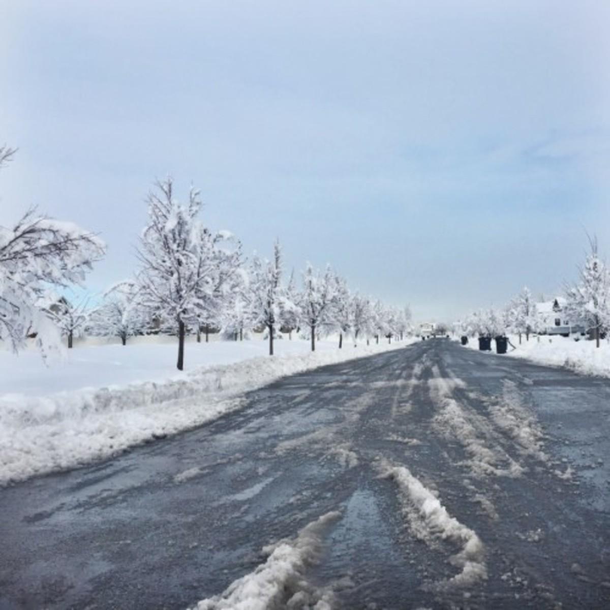 Boom! Winter arrived!
