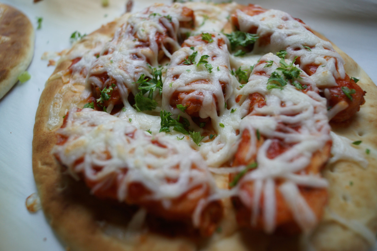 Chicken Parmesan Flatbread