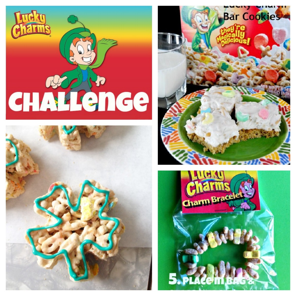 The Lucky Charms Challenge for St. Patrick's Day