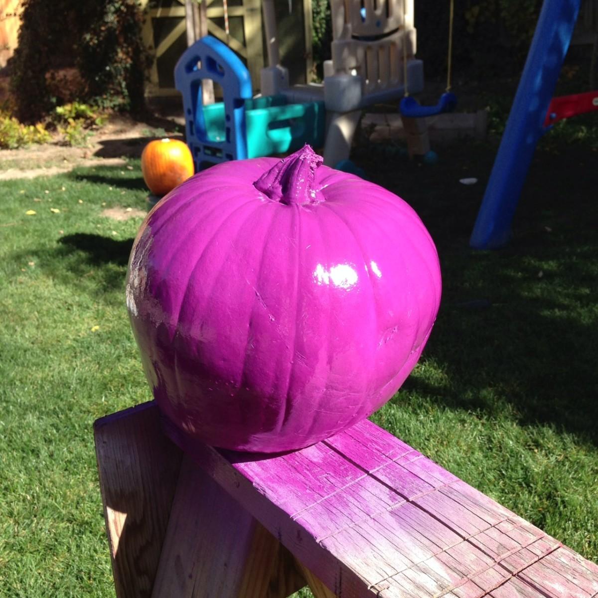 Paint your pumpkin!