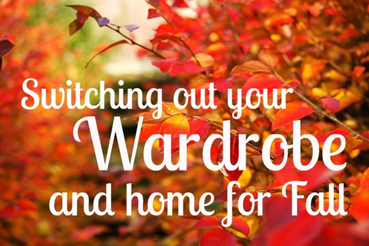 Switch Out Your Wardrobe and Home for Fall