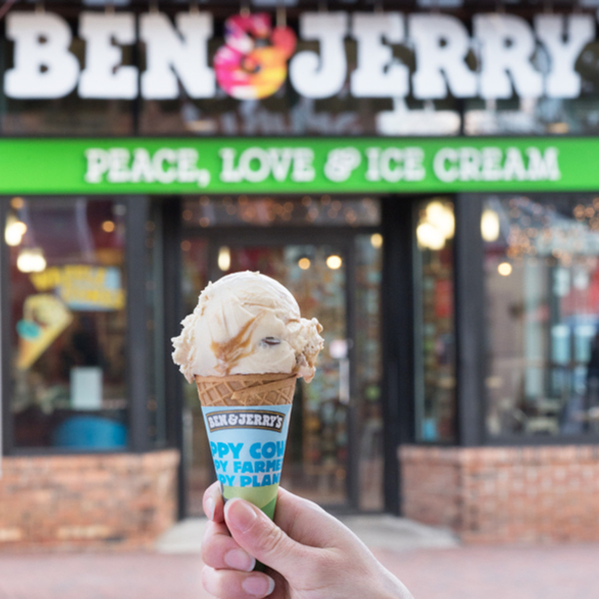 Ben and Jerry's Free Ice Cream Cone Day