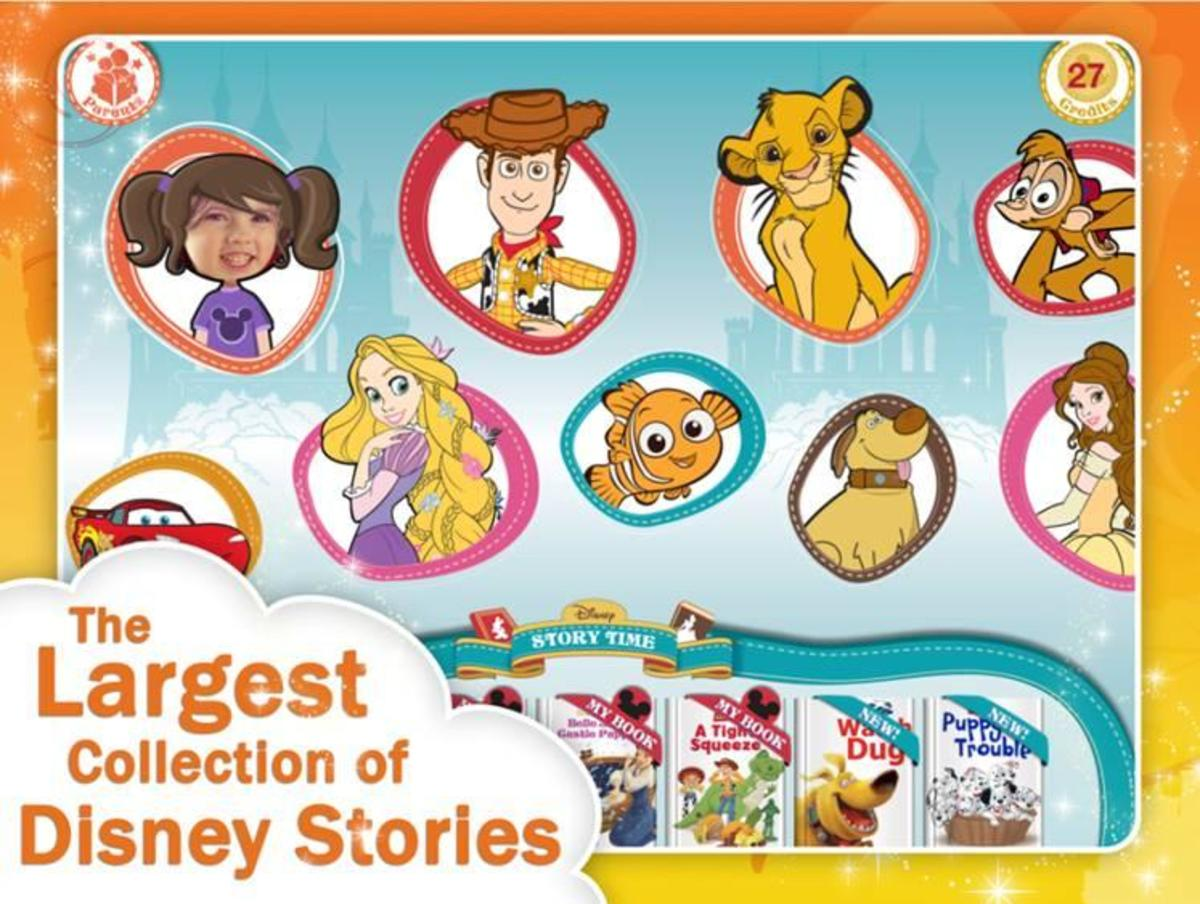 App of the Week Disney Stories App Collection