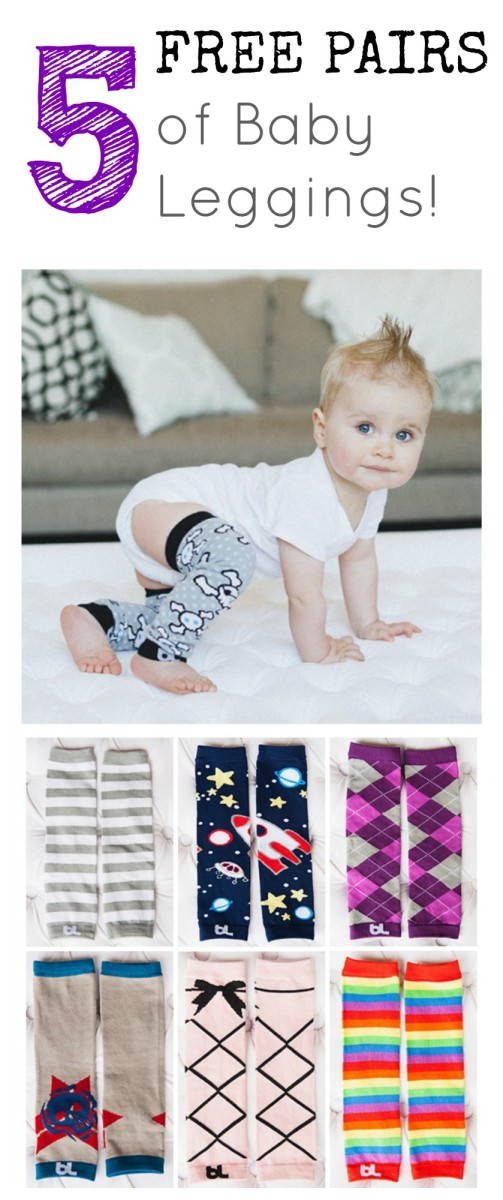 5 Free Pairs of Baby Leggings!