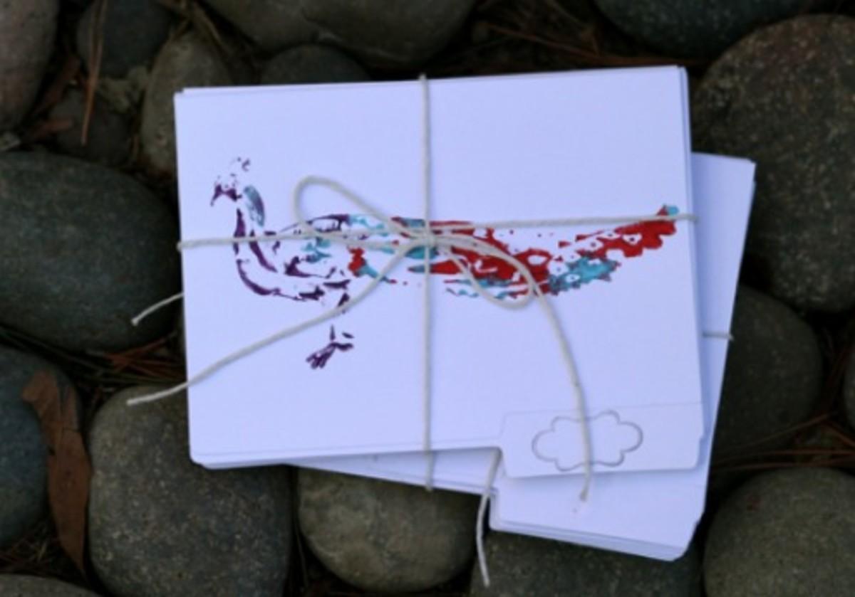 handmade holiday gifts_stationery