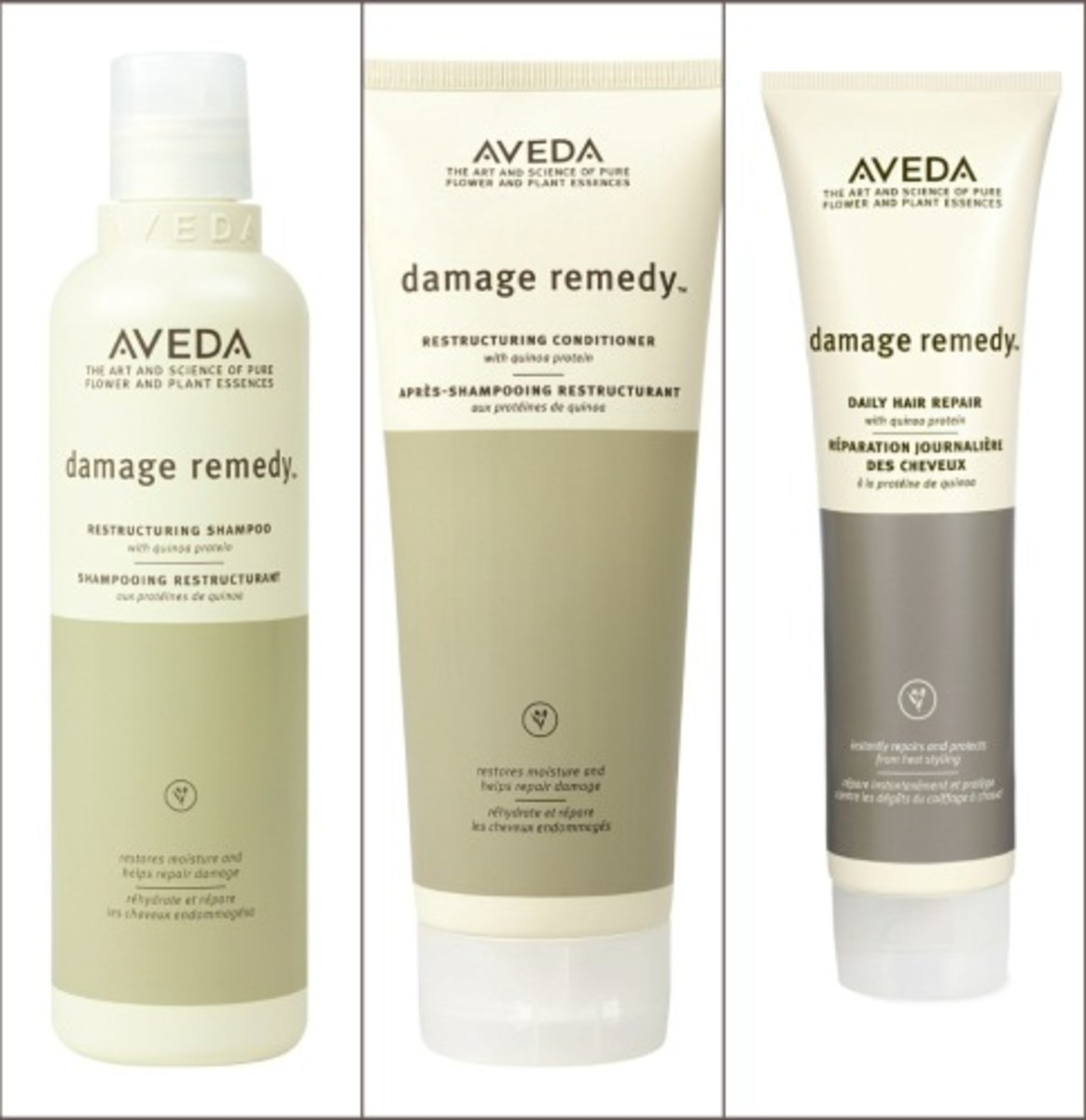 Aveda Collage