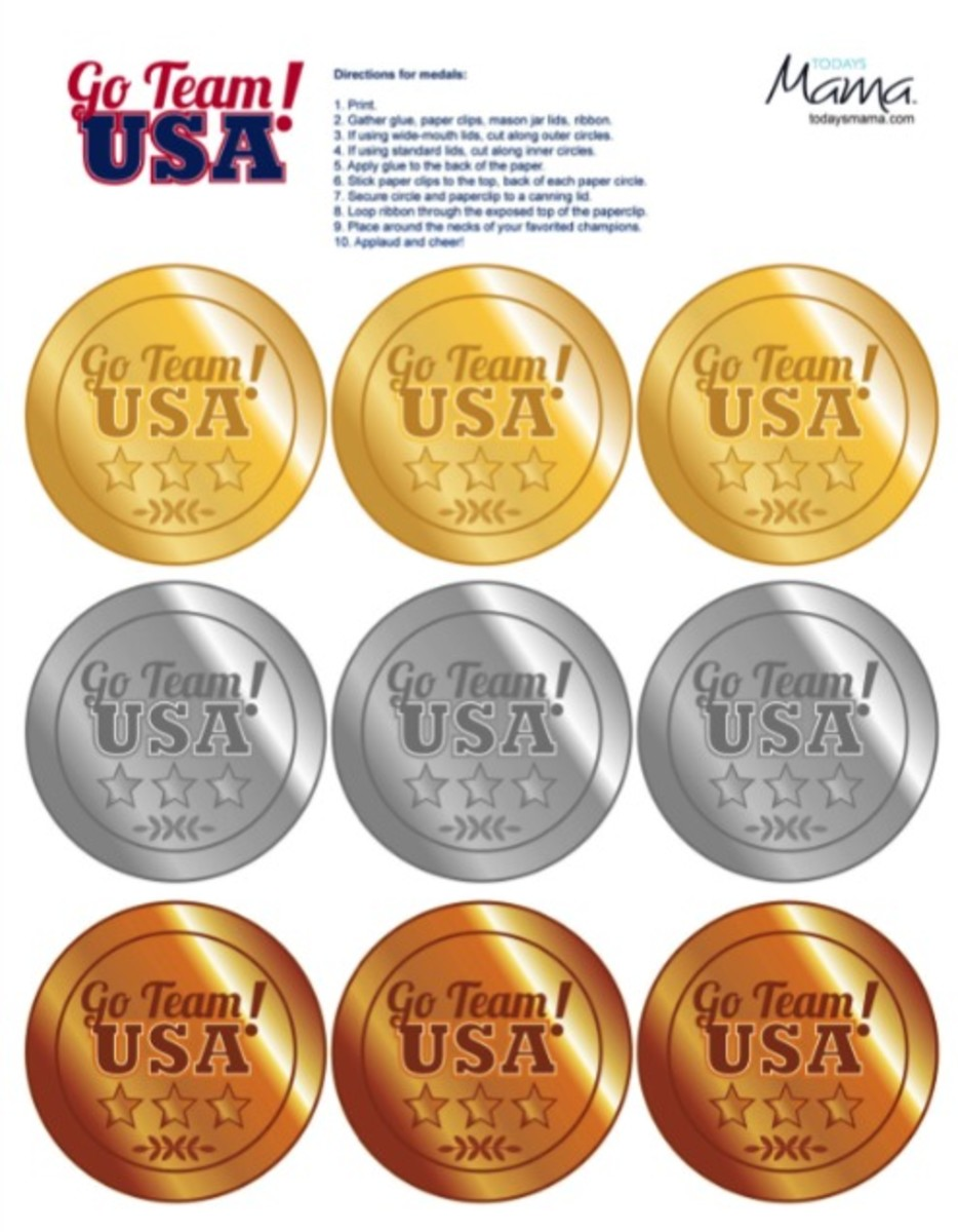 go team usa medal printable_preview