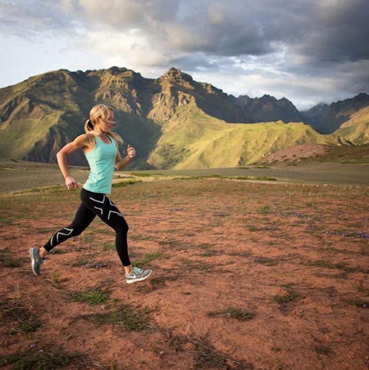 Sarah Romero Running