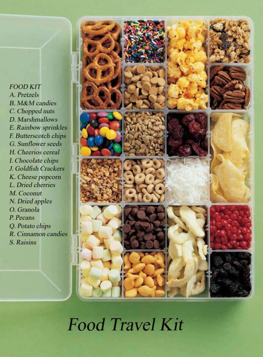 Easy Snack Kit for Travel