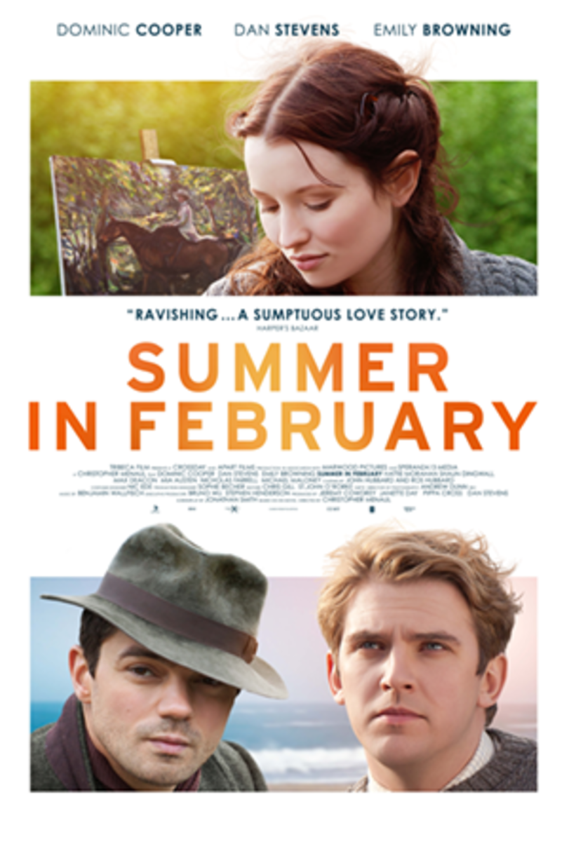 Summer in February Movie with Dan Stephens