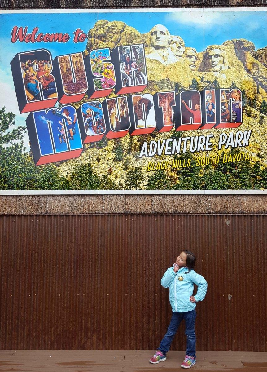 Rush Mountain Adventure Park on South Dakota Family Road Trip