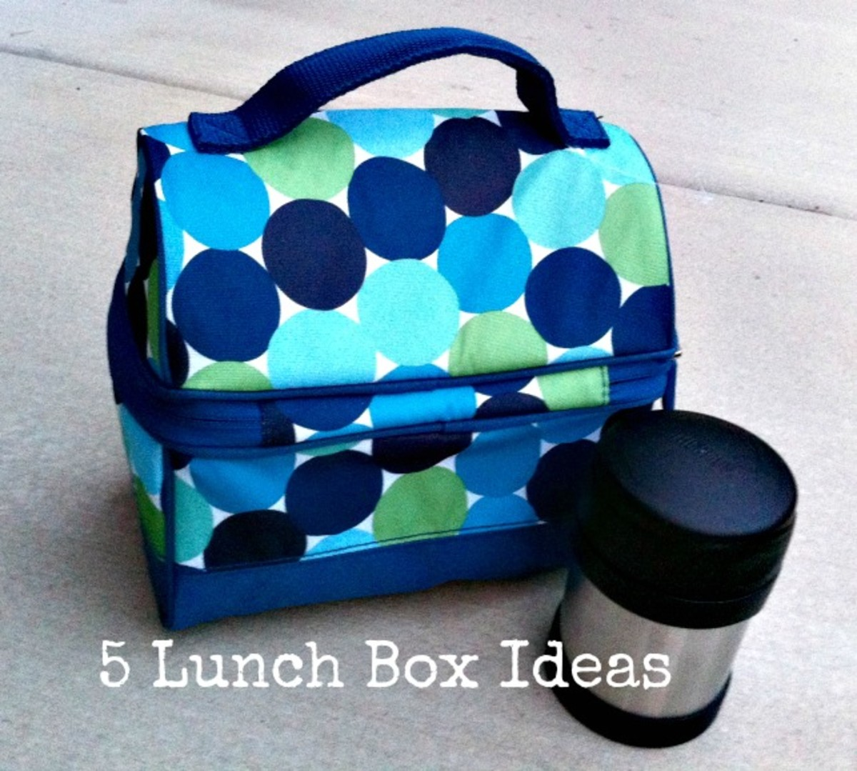5 Lunch Box Menu Ideas - A Week of School Lunch Menu Ideas