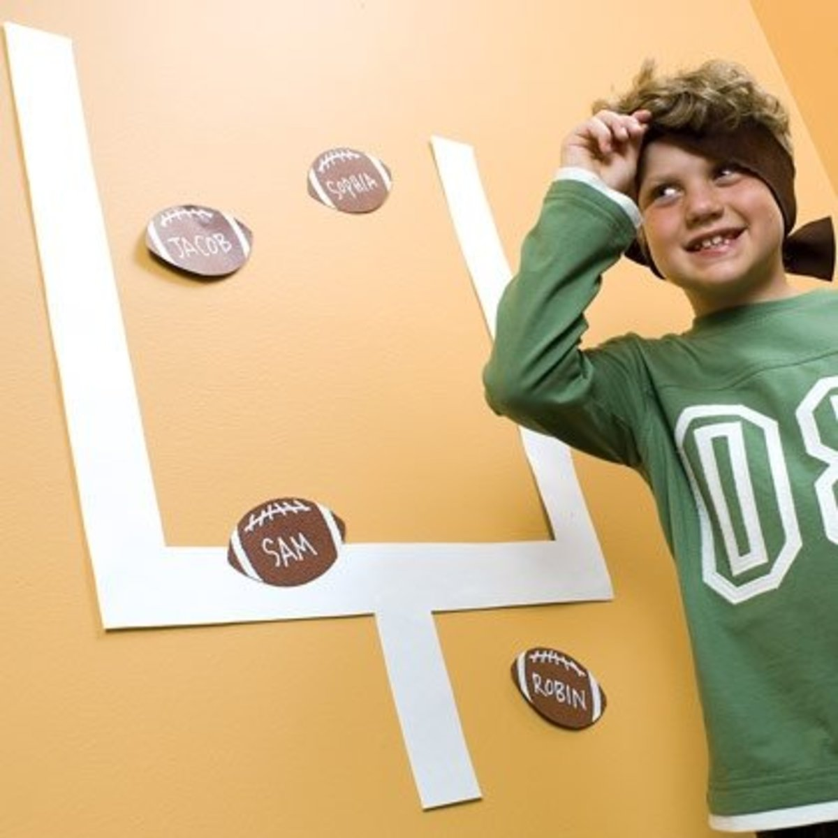 7 Super Bowl Crafts For Kids www.TodaysMama.com #SuperBowl2014