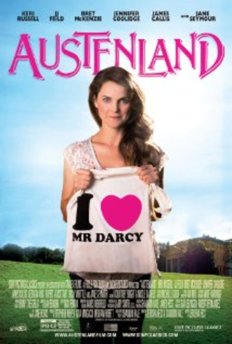 Austenland Movie Poster with Keri Russell
