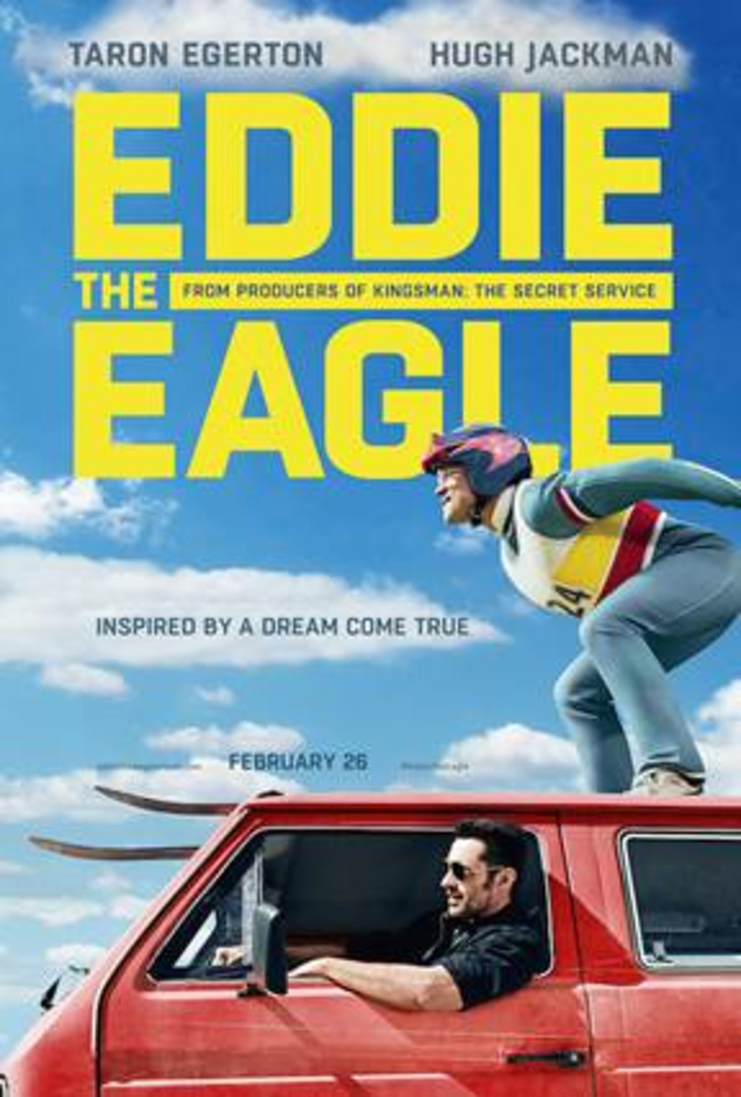 Eddie The Eagle {In Theaters February 26th}