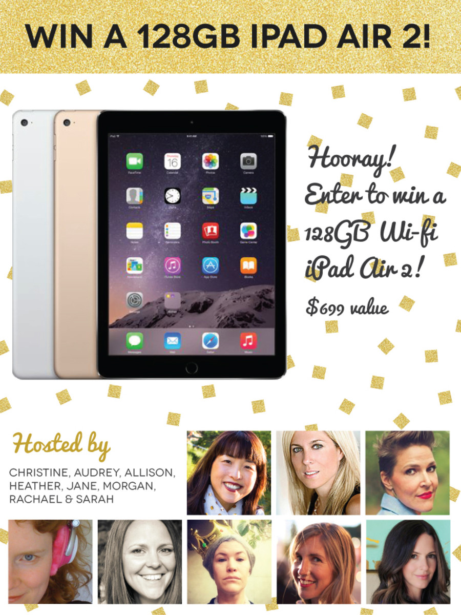 WIN a 128GB iPad Air 2!
