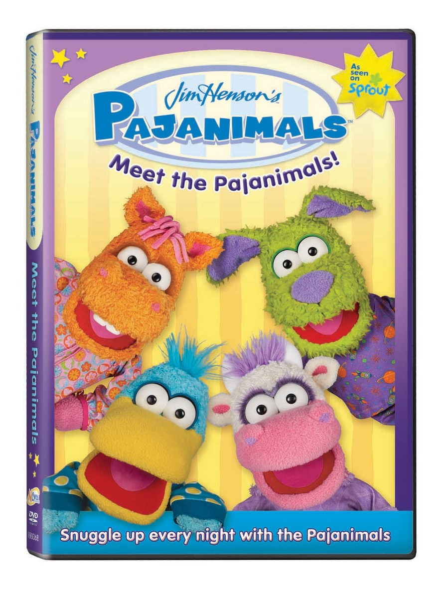 pajanimals DVD
