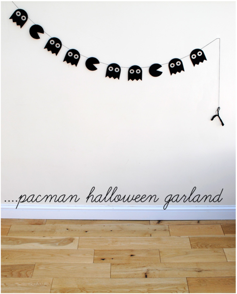 pacman garland