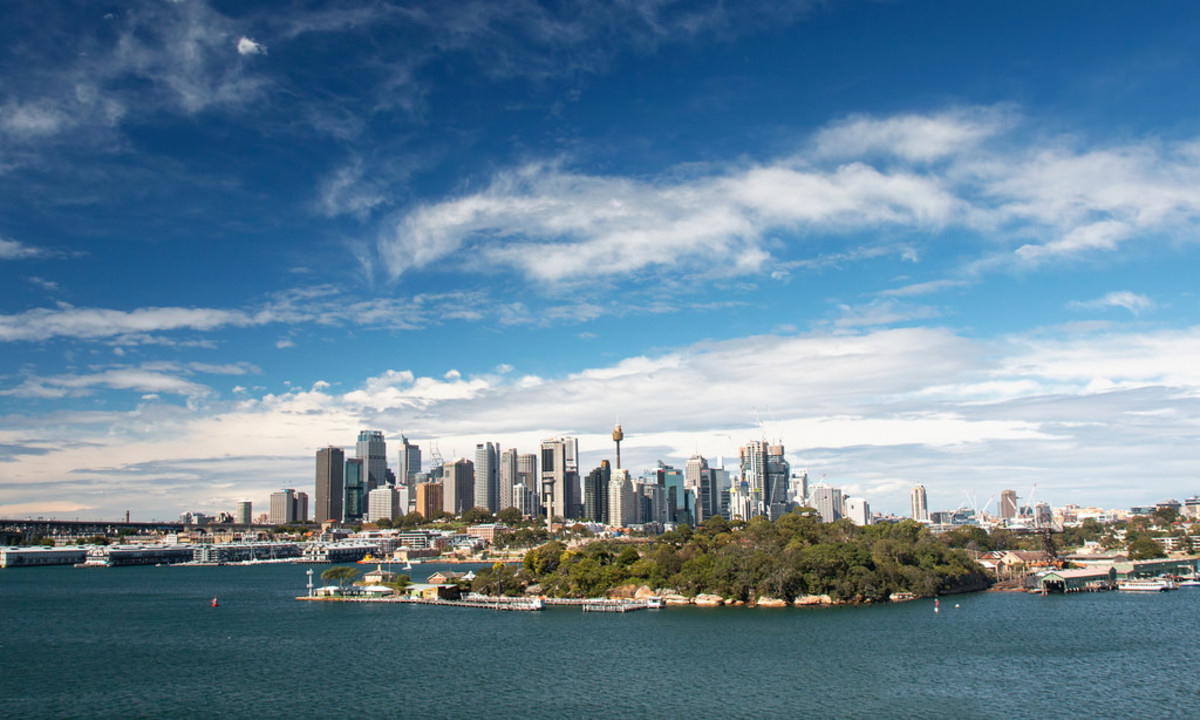 View of Sydney from Balls Head Reserve (Flickr: Andrea Schaffer)