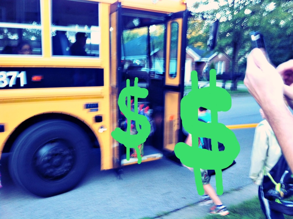 school bus dollars