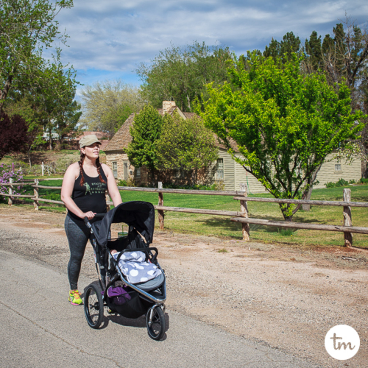 finding a work-out routine after having a baby