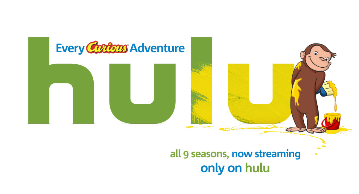 Curious George on Hulu!