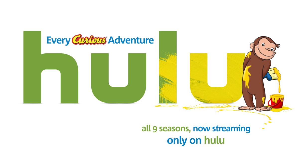 Curious George on Hulu!