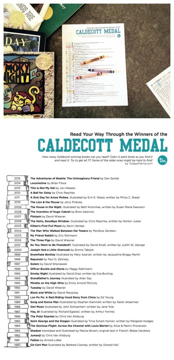 Caldecott Medal Reading List