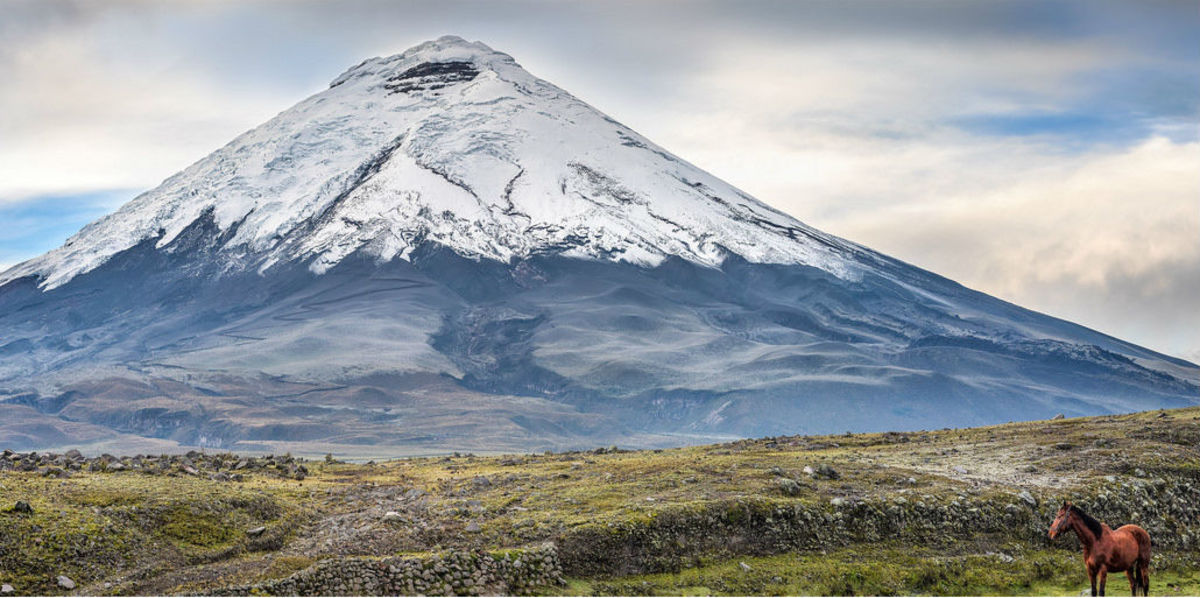 Cotopaxi Volcano at Cotopaxi National Park in Ecuador (Flickr: Simon Matzinger)