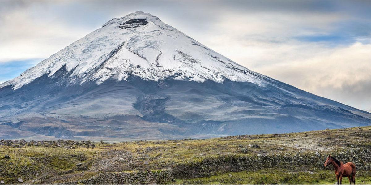 Cotopaxi Volcano at Cotopaxi National Park in Ecuador (Flickr: Simon Matzinger)