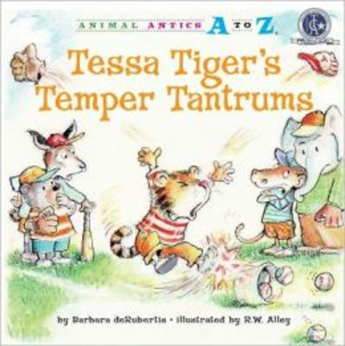 Books Coping with Temper Tantrums: Tessa Tiger's Temper Tantrums
