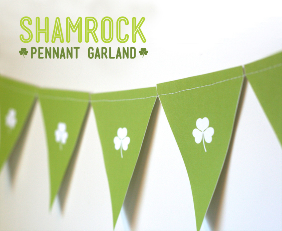 Shamrock Garland Preview