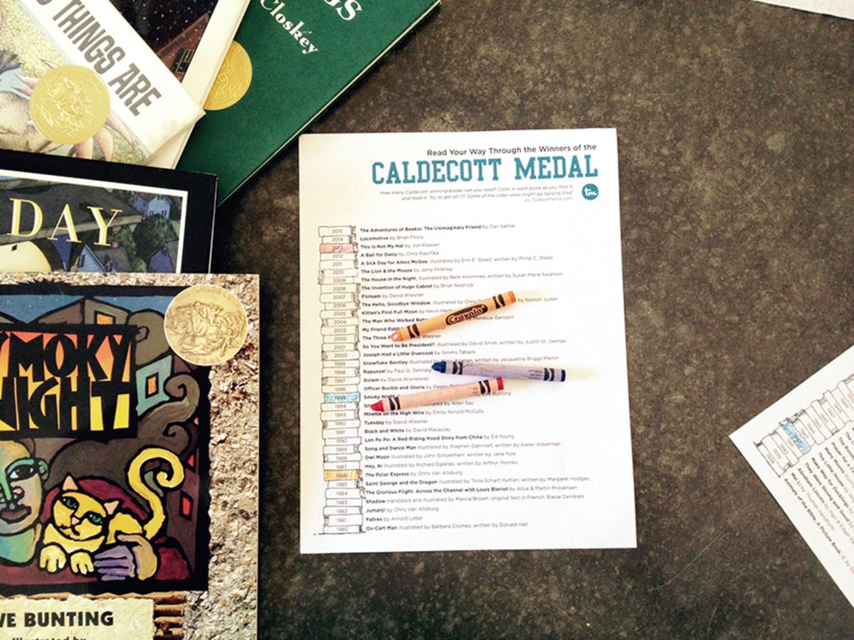 Read Your Way Through the Caldecott Awards