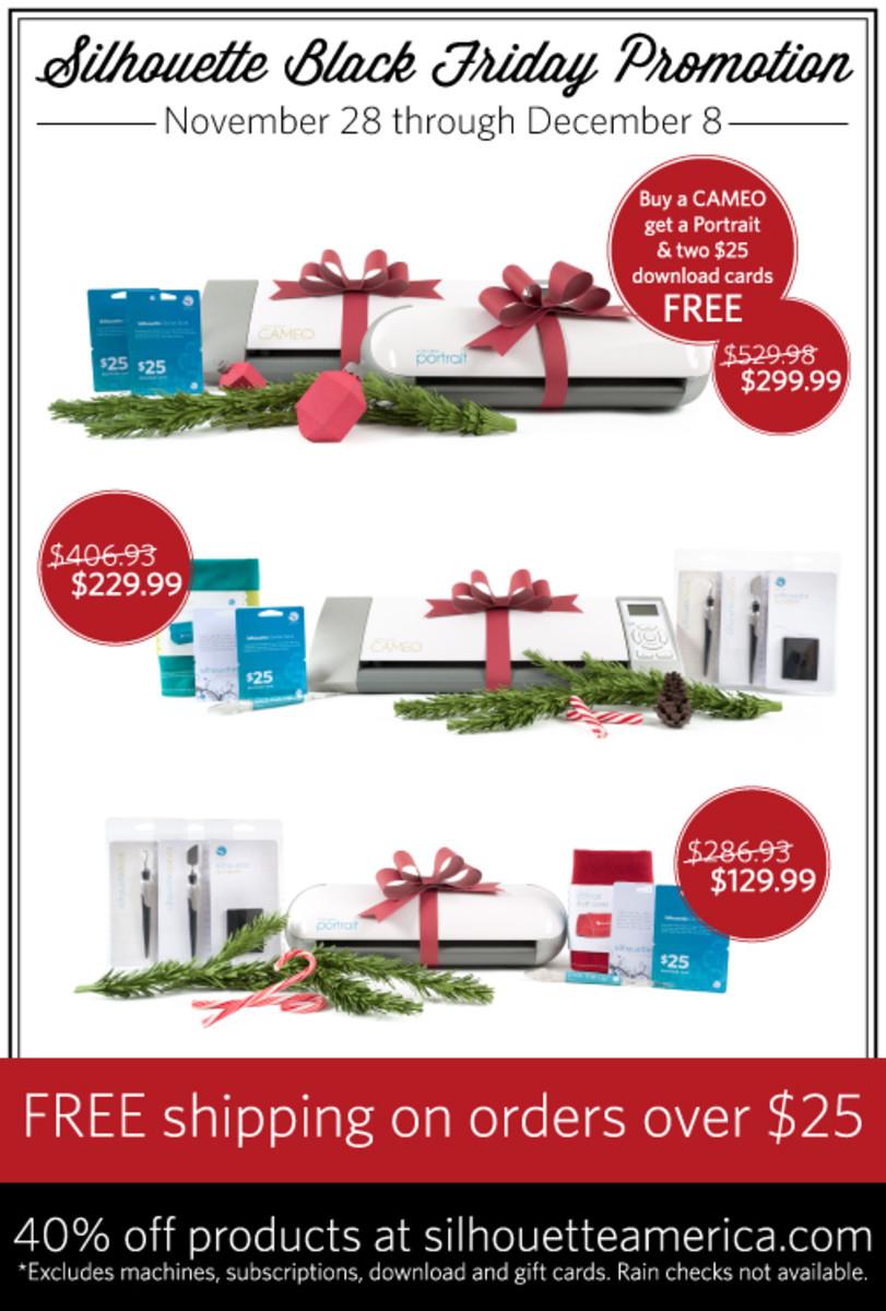 Silhouette America Holiday Deals on TodaysMama.com