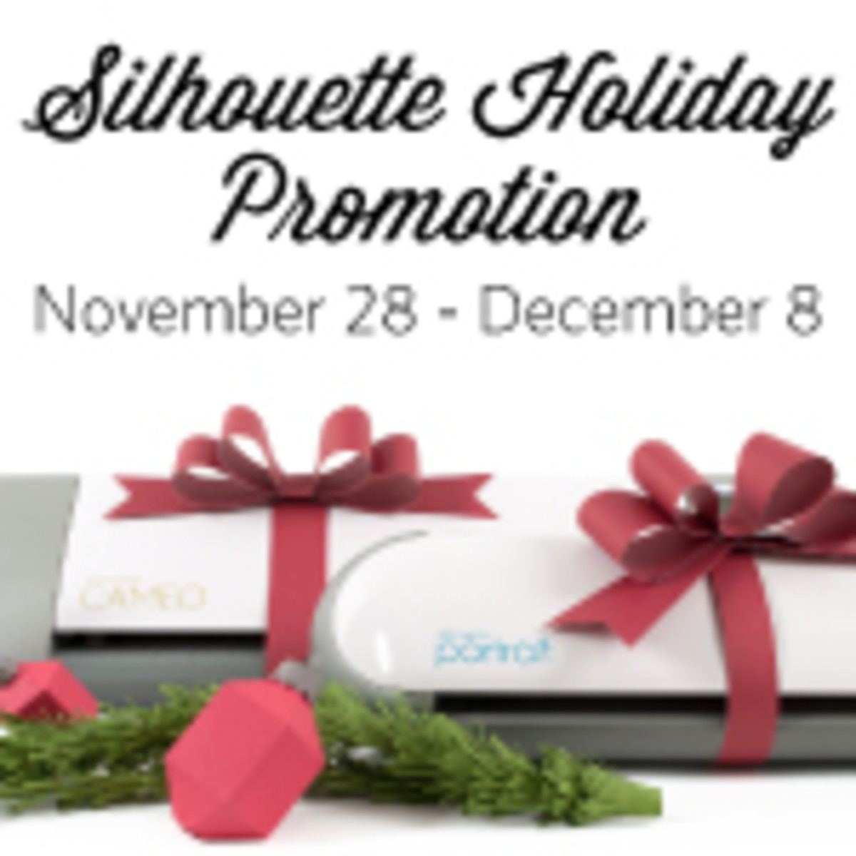 Silhouette Holiday Sale - TodaySMama.com