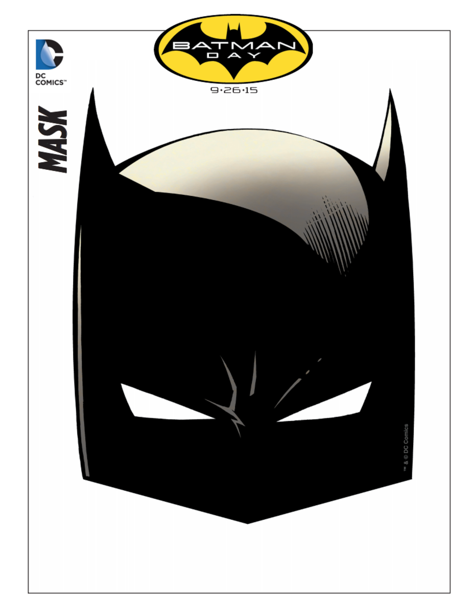 Free Printable Batman Masks