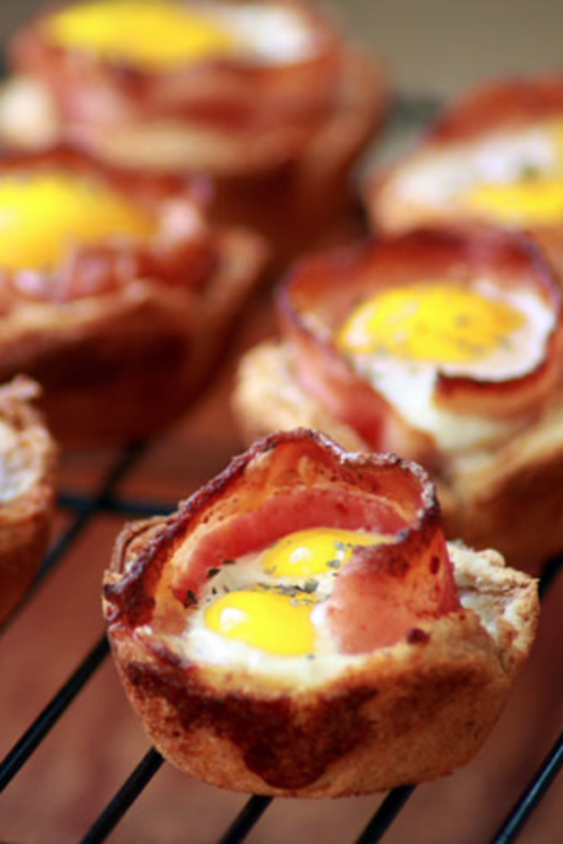 Bacon and Egg Muffin Tin Recipe