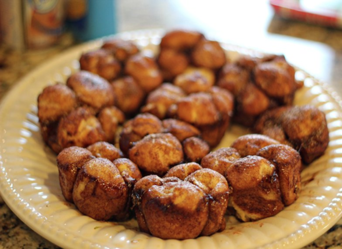 Monkey Bread in a muffin tin