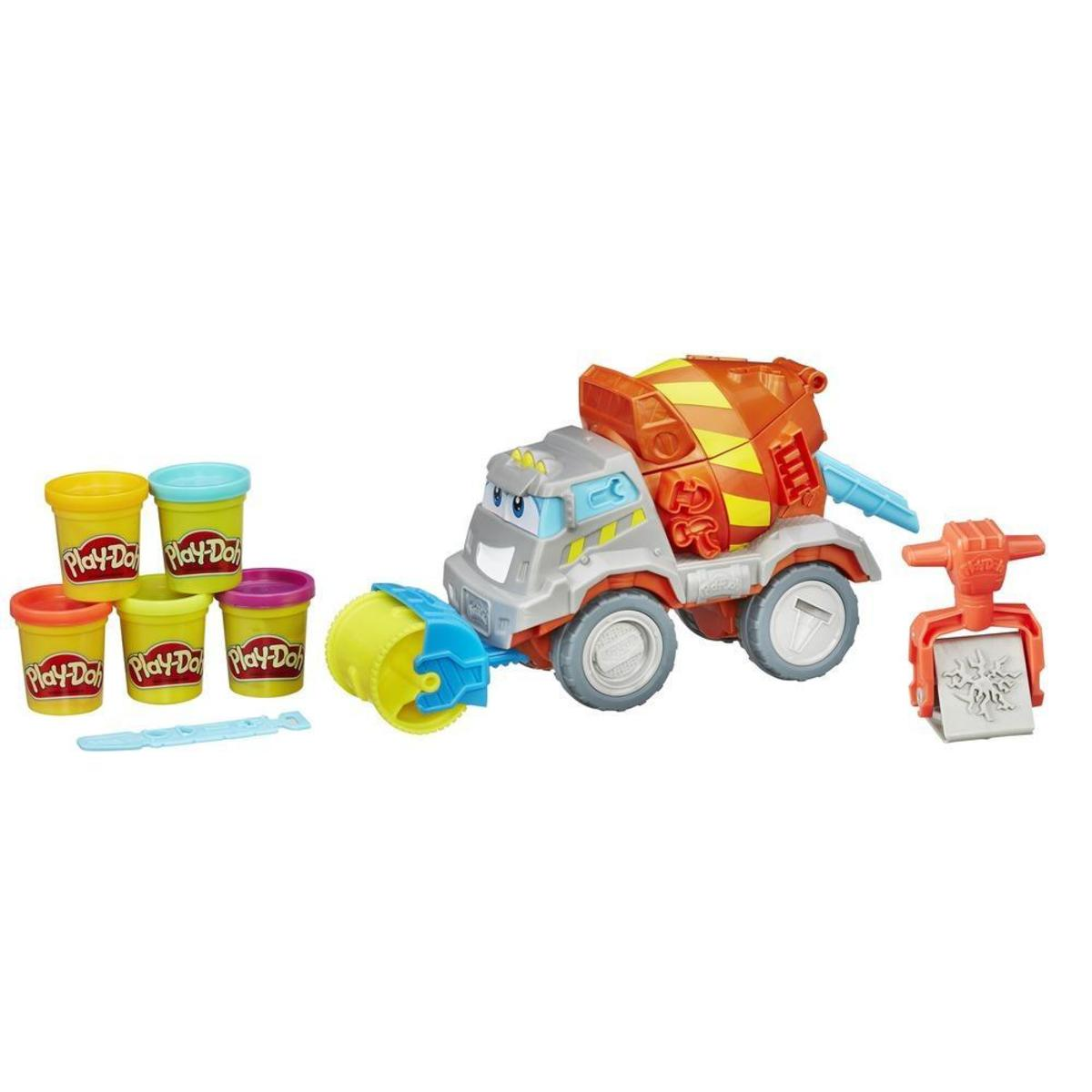 play dough cement mixer