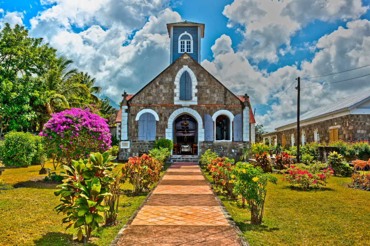 St. Paul's Anglican Church in Nevis (Nevis Tourism Authority)