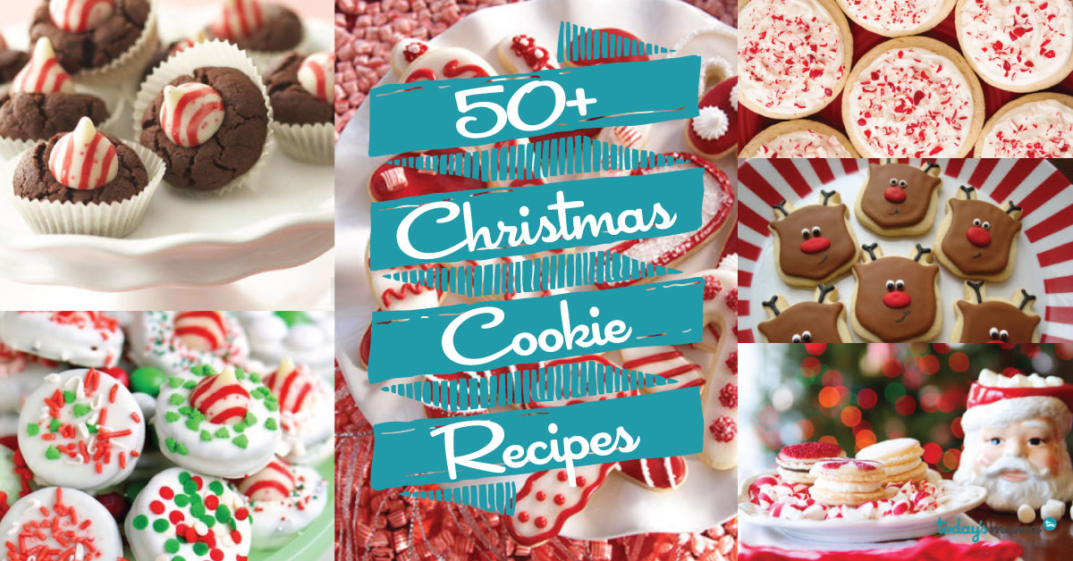 50+ Christmas Cookie Recipes