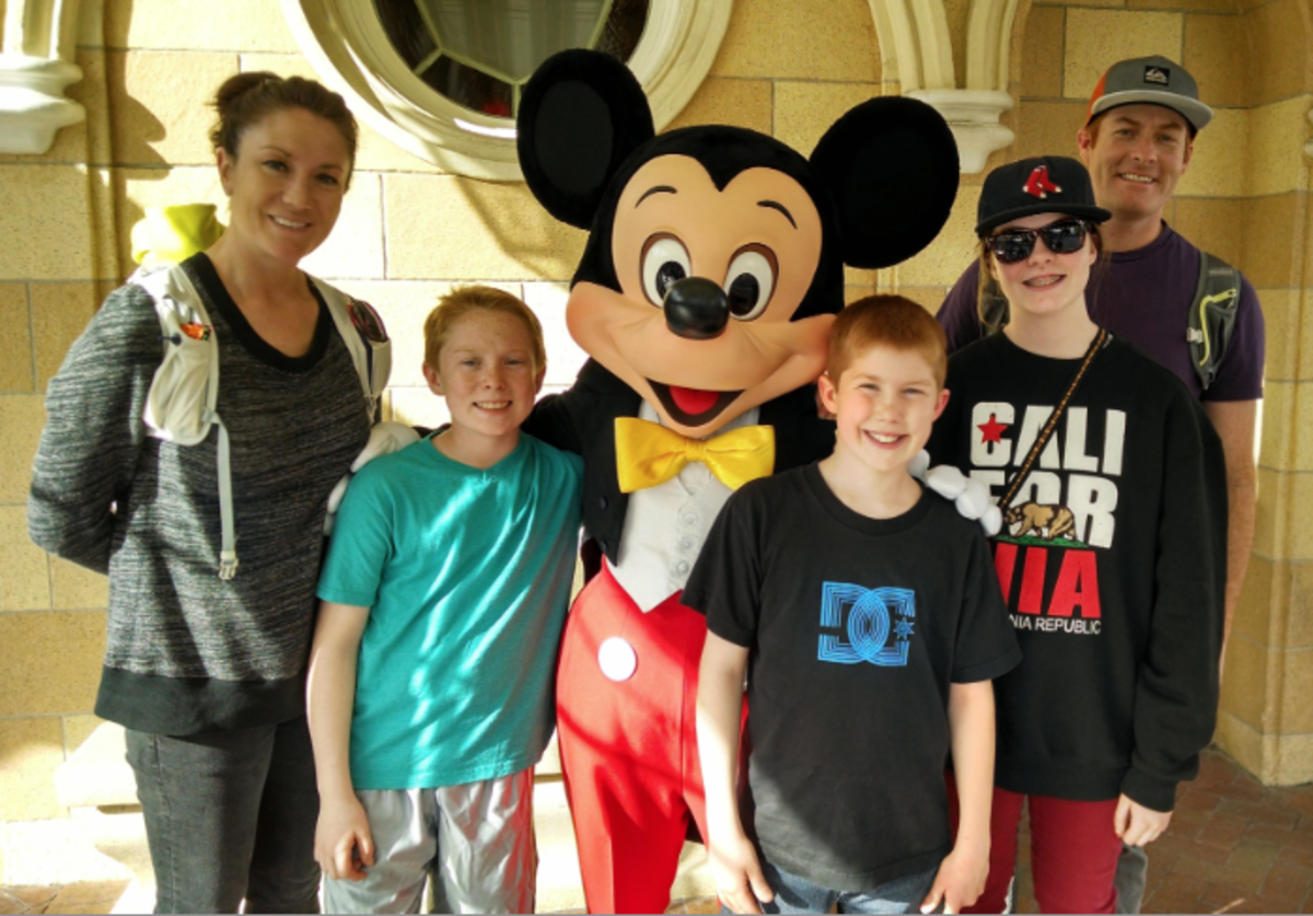 The Family that Ran 680 Miles to Disneyland