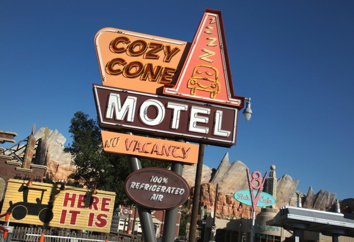 Cars Land Cozy Cone Motel