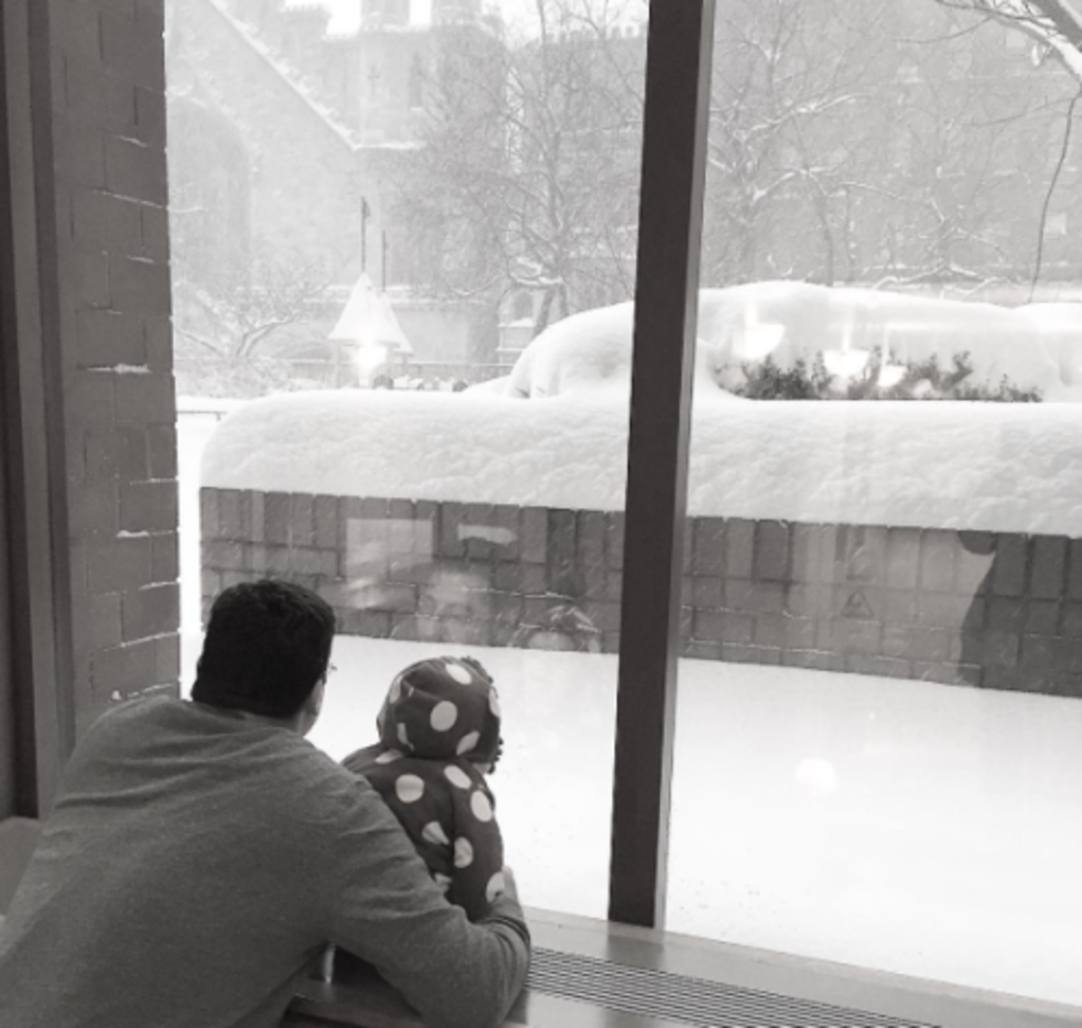 The Cutest Kid Pics from SNOWMAGEDDON 2016 @nycdadsgroup