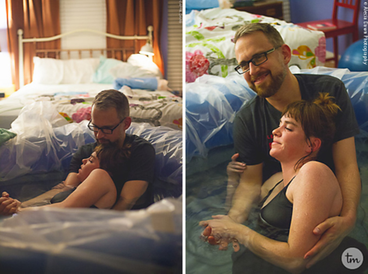 Home Birth Photos