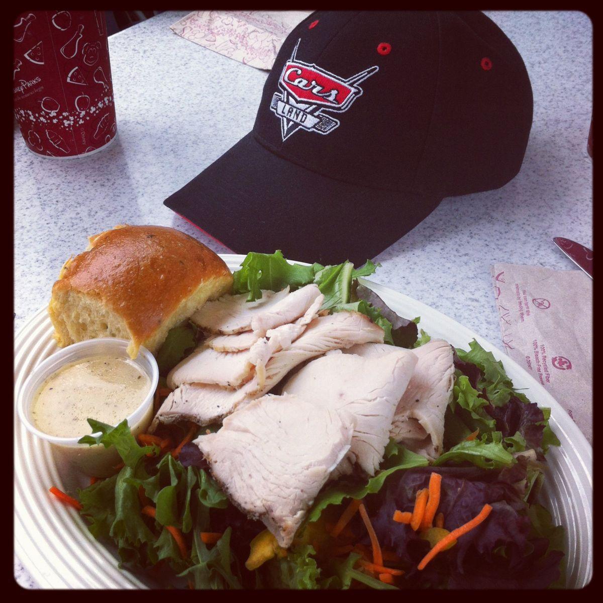 Citrus Turkey Salad at Flos V8 Cafe