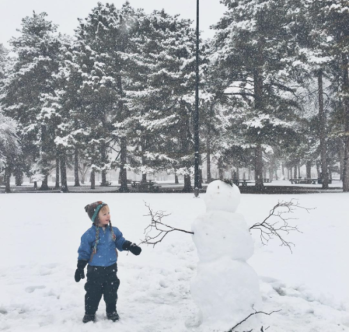 The Cutest Kid Pics from SNOWMAGEDDON 2016 @vintagemixer