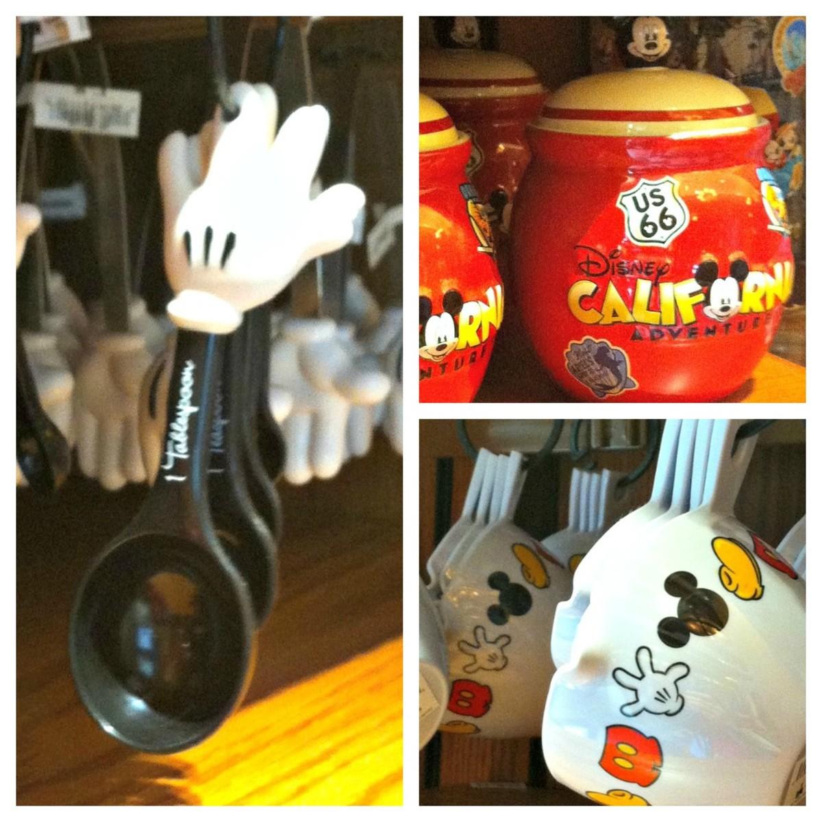 Mickey Kitchen Items